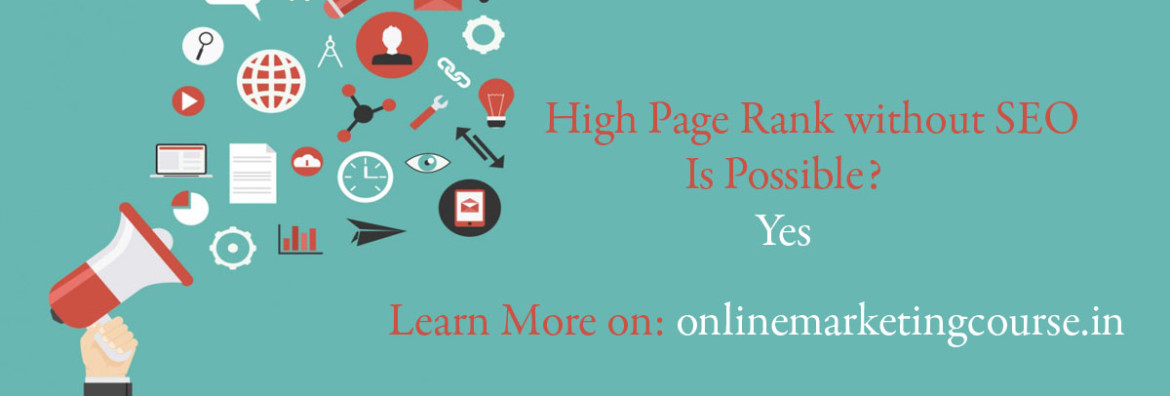 high pr without seo possible