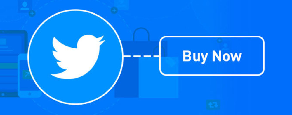 new twitter ads button