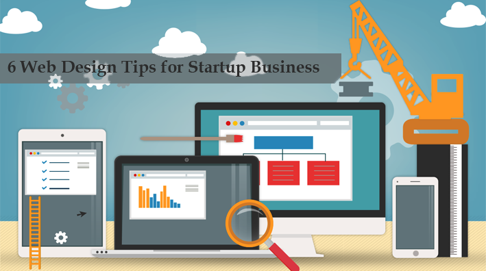 web designing tips for startup business
